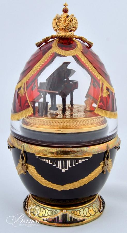 Fabergé Eggs from the St. Petersburg Collection