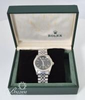 Rolex Stainless Steel and Diamond Men's Watch