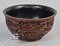 Asian Lacquerware Bowl Early 20th Century