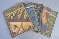 (5) Fortune Magazines, 1935