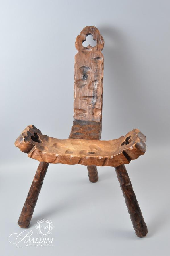 Click on any picture to see a larger image. Antique Birthing Chair ... - Baldini Auction - Auction: Pop-Up Auction ITEM: Antique Birthing