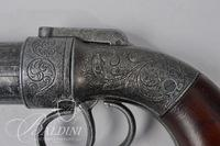 Allen & Thurber Cast Steel Pepperbox Pistol