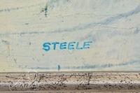 """Darryl Steele """"Winter Landscape"""" Original Acrylic on Canvas, Signed"""