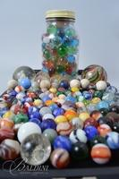 Marble Collection Including Glass and Clay Marbles