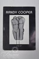 "Randy Cooper(American b. 1942) ""Kimmy"" '96 Original Shadow Sculpture Wire Mesh Art, Signed"