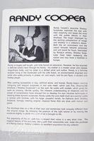 "Randy Cooper(American b. 1942) ""Kimmy"" '96 Original Shadow Sculpture Wire Mesh Art, Signed"