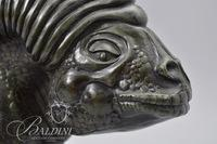 "Dennis Thompson Carved Whimsical Lizard Signed ""Thompson"" 2/190"