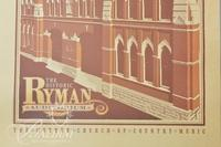 "Spirit of Nashville Collector Print - ""The Historic Ryman Auditorium"""