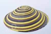 African Wire Basket Made From Color Coated Cooper Telephone Wire From the Durvan Kwa-Zulu Natal Area