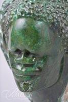 Verdite Shona 2-Faced Hand Carving Purchased in Harare, Zimbabwe in 1997