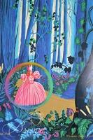 "Melanie Taylor Kent ""Wizard of Oz"" Painting on Porcelain Panel Unfinished Proof, Signed"