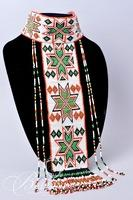 "Native American Apache ""Puberty"" Necklace and Headband"