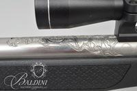 CVA Wolf .50 Cal./Black Powder Rifle Stainless Steel Barrel with Scope - Serial 61-13-027117-16