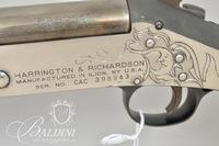 H & R Pardner .410 GA, Engraved Hunting Hound, Stag/Mermaid/Man in the Moon by D. Scutt - Serial CAC398943