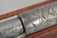 "Winchester Model 67 .22 Short. Long, Long Rifle, Single Shot - Heavily Engraved ""Dragon de Saint Georges"" By David Scutt - No Serial"