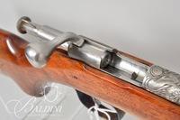"Winchester Model 67 .22 Short, Long, Long Rifle, Single Shot - Engraved ""Saint-Georges et le Dragon"" by D. Scutt. No Serial"