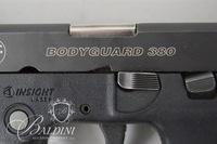 Smith & Wesson Model Body Guard 380 Built-in Laser Sight - Serial KAM6882