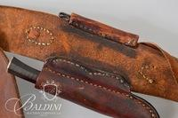 Jerry Fisher Handmade Double Billows Bag with Horn by David Scutt