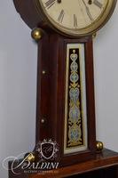 "E. Ingraham ""Nyanza"" 8-Day Banjo Wall Clock"