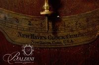 New Haven Rutland Double Dial Calendar Wall Clock - Formerly of the Gerst Brewing Co.