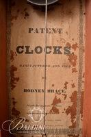 Rodney Brace Wooden Works Clock with Paper Label Intact