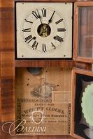 Waterbury 8-Day Weight Shelf Clock - S. Thomas Stamped on Clockworks