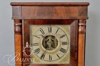Eli Terry Jr 8-Day Brass Works Shelf Clock with Two Columns and Reverse Painted Scene