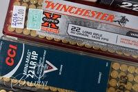 .22 LR Ammo and 2 Ammo Cases