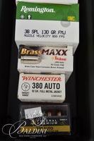 .380 Auto Ammo and 1 Ammo Case