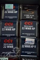 .22 WMR Ammo and 1 Ammo Box