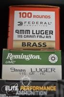 9 MM Ammo and 1 Ammo Case