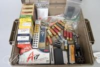 Assorted Ammo, Clips and 1 Large Ammo Case