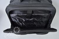 (2) Bags - High Sierra with Leather Detail and Black Protege Bag on Wheels