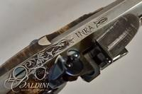 David Scutt York County Style Flintlock .45 Caliber Maple Stock Heavily Inlaid and Engraved