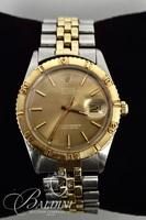 "18K Rolex Oyster Perpetual Datejust Turn-O-Graph ""Thunderbird"" Automatic Movement Chronometer Watch - Bracelet is 14K"