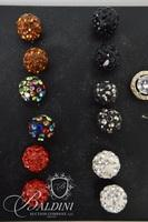 (13) Pair of Vintage Costume Earrings