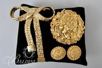 Costume Jewelry Includes Necklace Earrings and Brooches