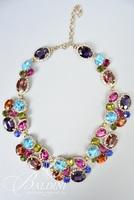 Rhinestone Necklace with Matching Bracelet