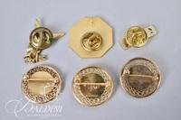 (6) Assorted Service Pins