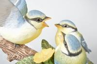 "(5) Bisque Birds Including ""Feeding Time"" and ""First Flight"" by Peter Barrett, The Franklin Mint"