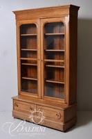 Antique Eastlake Two-Door Bookcase