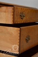 3-Drawer Dresser with Brass Hardware on Queen Anne Legs