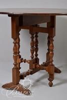Narrow Gate Leg Table on Turned Legs