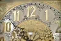 Emperor Clock Company Grandfather Clock with Solar and Lunar Dial