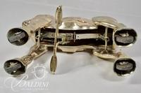 """Brass and Metal """"Mobo"""" Hobby Horse"""
