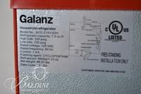 Galanz Small Red Refrigerator