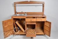 Sink Base in Cabinet