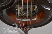 Early Ampeg Sunburst Electric Upright Baby Bass
