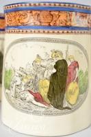 (8) William Adams & Sons Ltd. Illustrations from Shakespeare Earthenware Mugs/Tankards