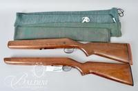 (2) Walnut Rifle Stocks